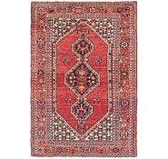 Link to 4' 3 x 6' 6 Hamedan Persian Rug