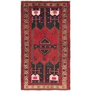 4' 3 x 8' Sirjan Persian Rug