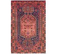 Link to 4' 8 x 7' 3 Shiraz Persian Rug