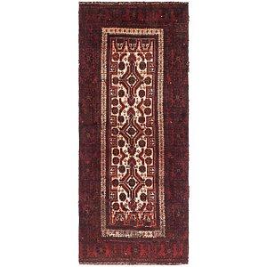 3' 9 x 5' 4 Balouch Persian Rug