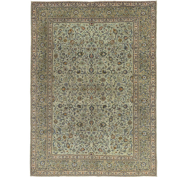 HandKnotted 10' 3 x 14' Kashan Persian Rug