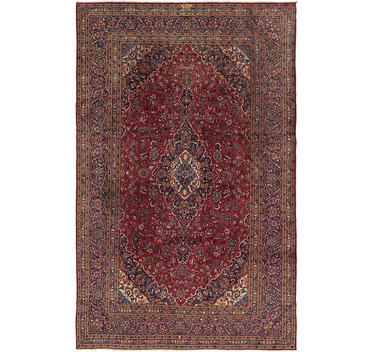 8' 2 x 13' Kashan Persian Rug