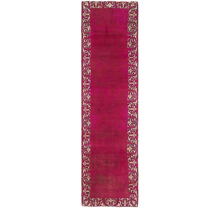 3' 2 x 12' Tabriz Persian Runner Rug
