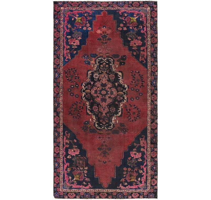 4' 2 x 8' 6 Ferdos Persian Runner Rug
