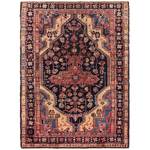Link to 4' 6 x 6' 8 Tuiserkan Persian Rug item page