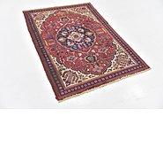 Link to 3' 4 x 4' 9 Tabriz Persian Rug