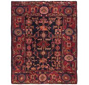 Link to 3' 9 x 4' 8 Malayer Persian Square Rug