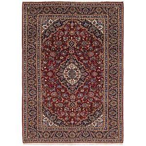 7' 3 x 10' 5 Kashan Persian Rug