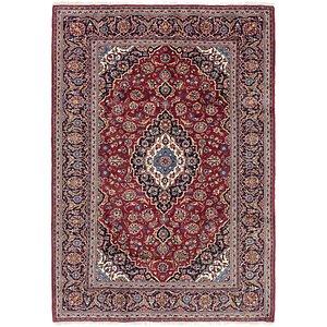 6' 7 x 9' 7 Kashan Persian Rug