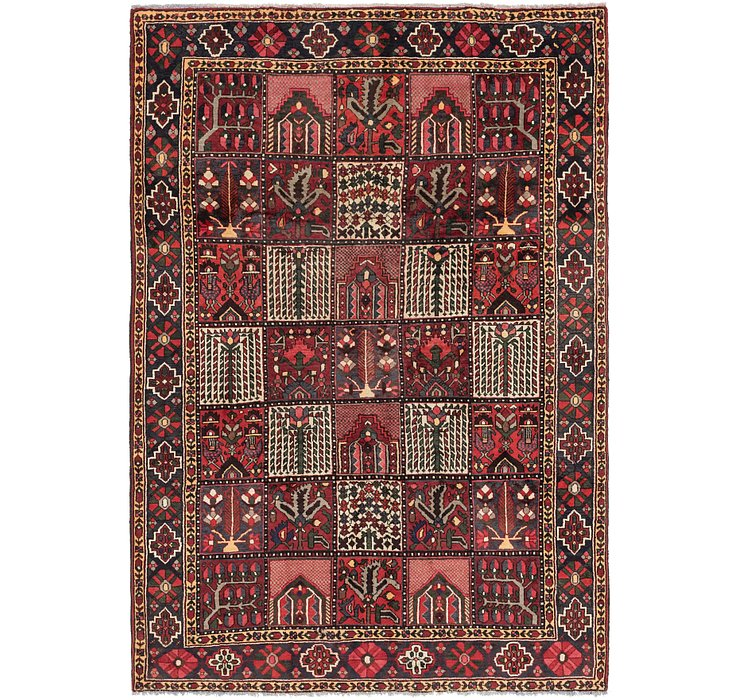 7' x 10' 2 Bakhtiari Persian Rug