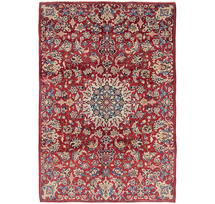 7' 2 x 10' 9 Isfahan Persian Rug