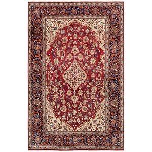 6' 9 x 10' 5 Kashan Persian Rug