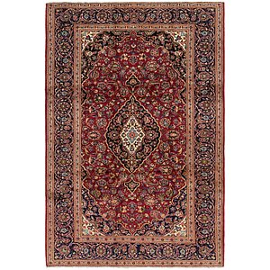 Unique Loom 6' 9 x 10' Kashan Persian Rug