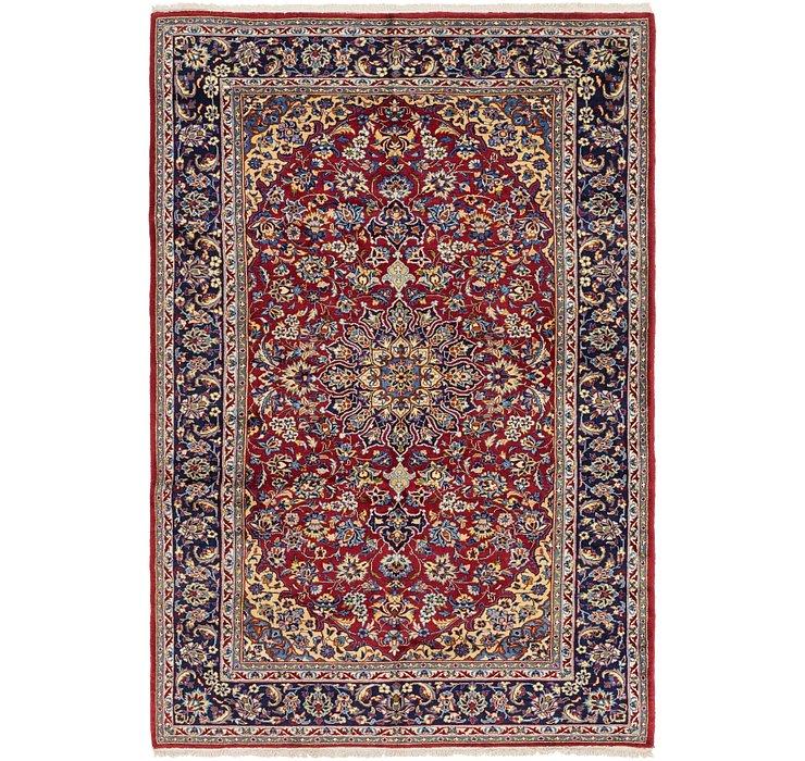 6' 9 x 10' 2 Isfahan Persian Rug