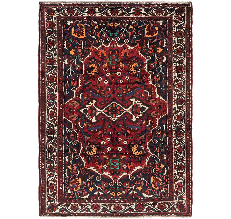 7' 4 x 10' Bakhtiari Persian Rug