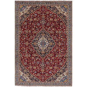 Link to 7' x 10' 6 Kashan Persian Rug item page