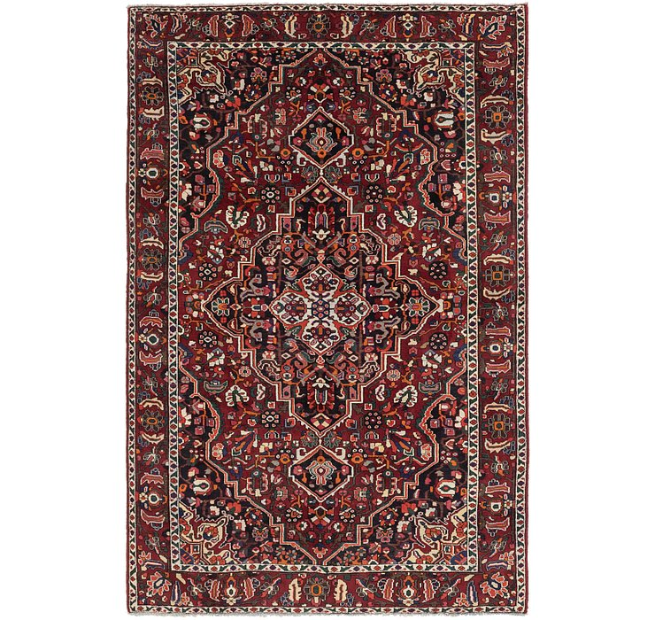 HandKnotted 6' 9 x 10' 3 Bakhtiar Persian Rug