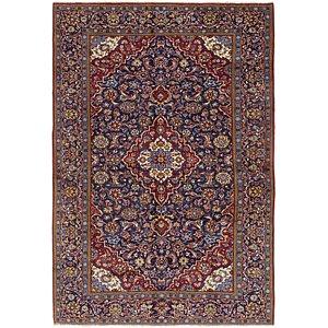 7' 6 x 11' 2 Kashan Persian Rug