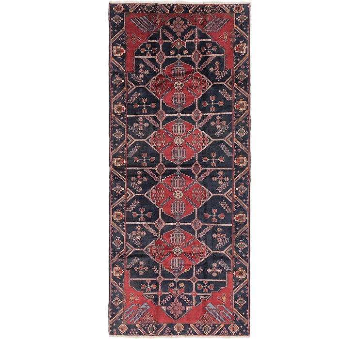5' 3 x 12' 5 Sanandaj Persian Runner...