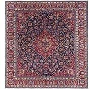 Link to 9' 10 x 10' 5 Mashad Persian Square Rug