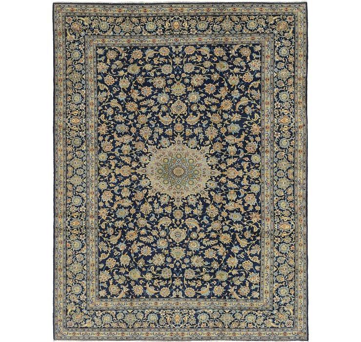 10' 3 x 13' 5 Kashan Persian Rug