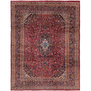 Link to 300cm x 378cm Mashad Persian Rug item page