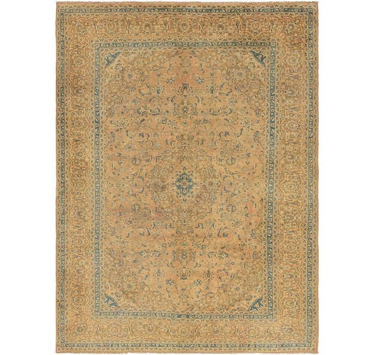 9' 9 x 12' 10 Kashan Persian Rug
