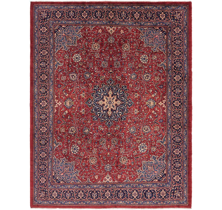10' x 13' Sarough Persian Rug