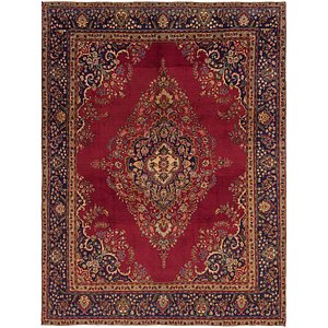 Link to 9' 8 x 13' Tabriz Persian Rug item page