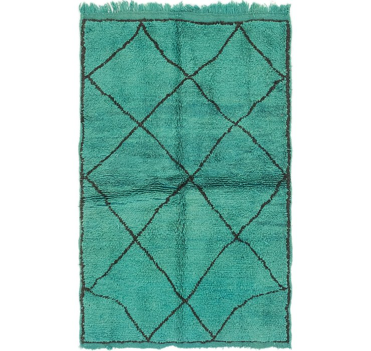 3' 6 x 5' 3 Moroccan Rug