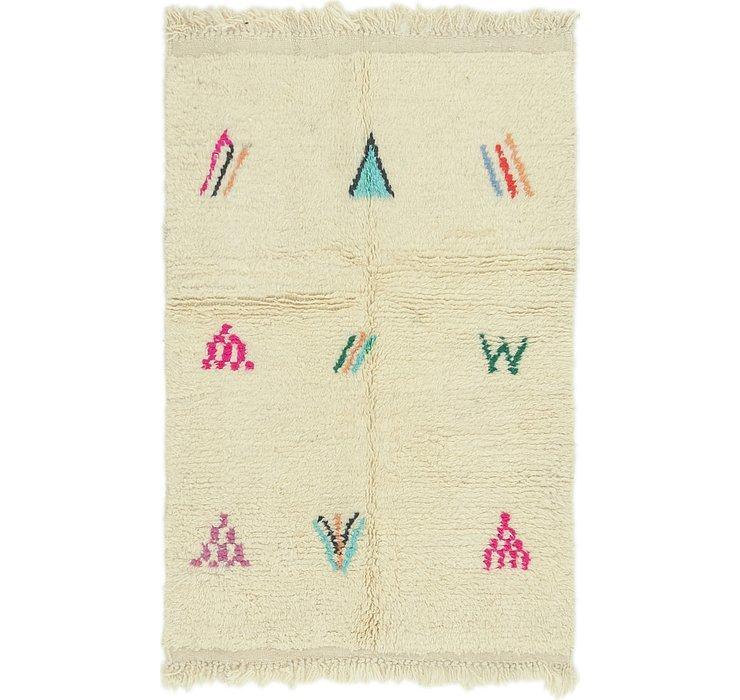 3' 3 x 5' Moroccan Rug