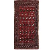 Link to 2' 2 x 4' 6 Torkaman Persian Runner Rug