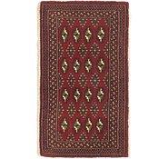 Link to 2' x 3' 4 Torkaman Persian Rug