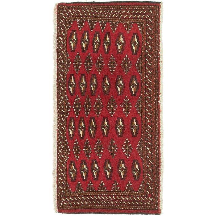 1' 8 x 3' 7 Torkaman Persian Rug