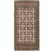 Link to 2' 2 x 4' 3 Torkaman Persian Runner Rug