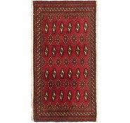 Link to 1' 9 x 3' 5 Torkaman Persian Rug