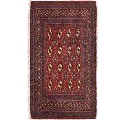 Link to 2' x 3' 7 Torkaman Persian Rug