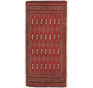 Link to 1' 9 x 3' 8 Torkaman Persian Rug