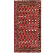 Link to 1' 9 x 3' 4 Torkaman Persian Rug