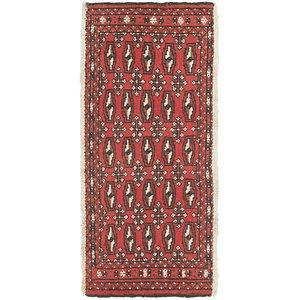2' 6 x 3' 5 Torkaman Persian Rug