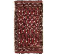 Link to 1' 8 x 3' 2 Torkaman Persian Rug