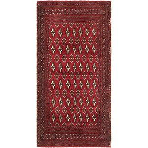 Link to 2' 3 x 4' 5 Torkaman Persian Rug item page