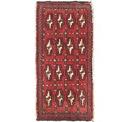 Link to 1' 6 x 3' 4 Torkaman Persian Rug