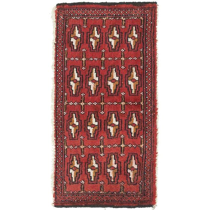 1' 7 x 3' 2 Torkaman Persian Rug
