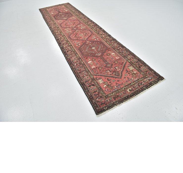 3' 4 x 12' 8 Zanjan Persian Runner Rug