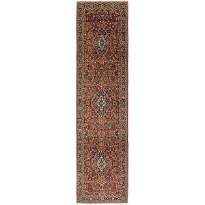 3' 5 x 13' 10 Kashan Persian Runner Rug