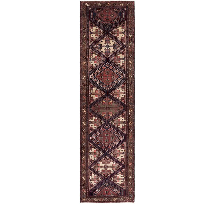 3' 7 x 13' 8 Saveh Persian Runner Rug