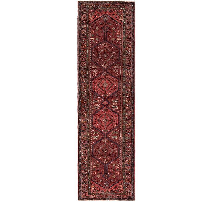 3' 5 x 12' 10 Zanjan Persian Runner Rug
