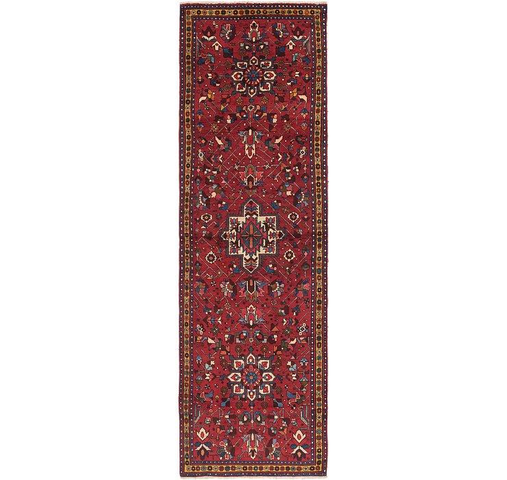 3' 9 x 12' 7 Tabriz Persian Runner Rug