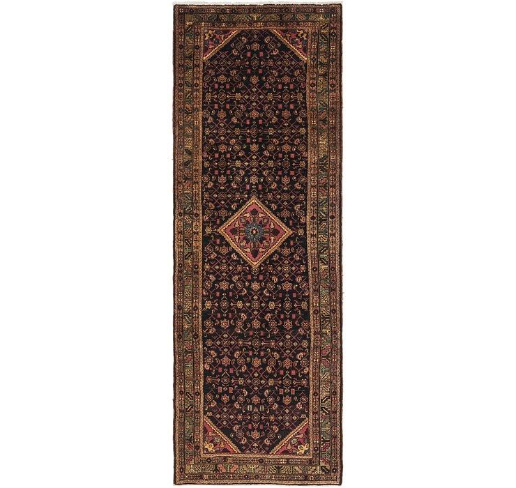 3' 6 x 10' Hossainabad Persian Run...